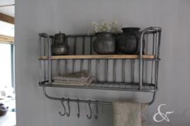 Keukenrek/wandrek metaal