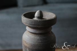 Nepalees kruikje met dekseltje nr. 15