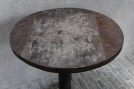 Oud houten wijntafel  61,5 cm