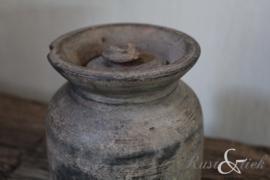 Nepalees kruikje met dekseltje nr. 18