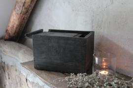 Oud houten kistje Aura Peeperkorn
