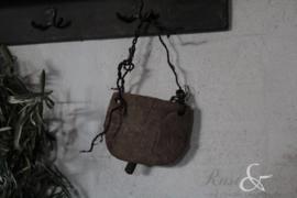 Oude houten bel