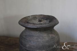Nepalees kruikje met dekseltje nr. 33