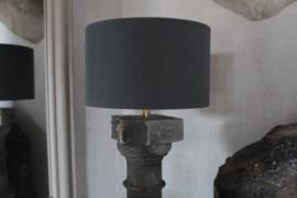 Balusterlamp grijs
