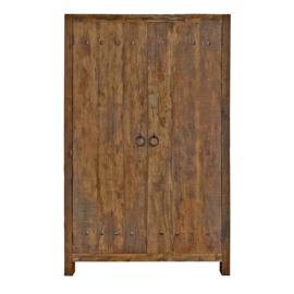 Kast robuust 2 deurs (3 kleuren)