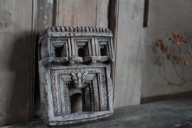 Tempelpaneeltje van klei