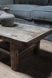 Oude salontafel 81 cm