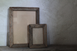 Oud houten fotolijst M