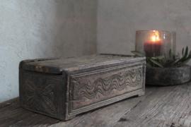 Unieke spicebox/ theedoos