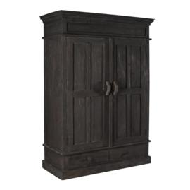 Grote kast 2 deurs met lade