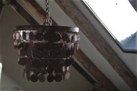 Hanglamp kleine schijfjes roest 32 cm