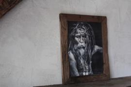 Robuust houten fotolijst XL