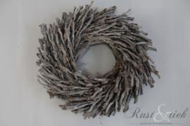 Botay krans grijs 40 cm