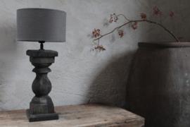 Balusterlamp black excl. kap