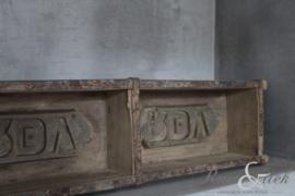 Oude baksteenmal 2 vakken