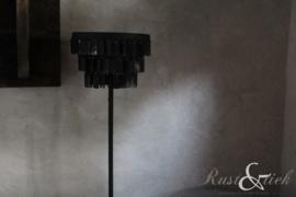 Vloerlamp met schijfjes