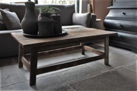 Oud houten salontafel 120x70 cm