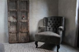 Landelijke fauteuil, met of zonder capitons
