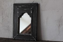 Spiegel zwart M