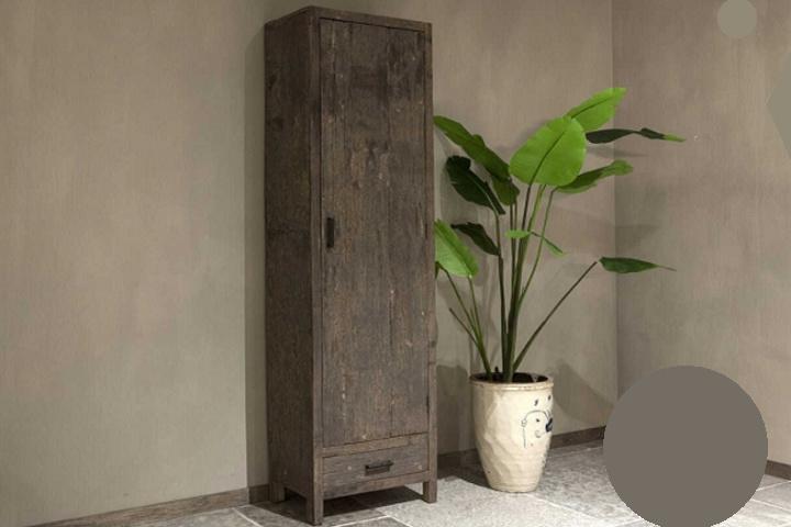 1 deurs kast robuust hout
