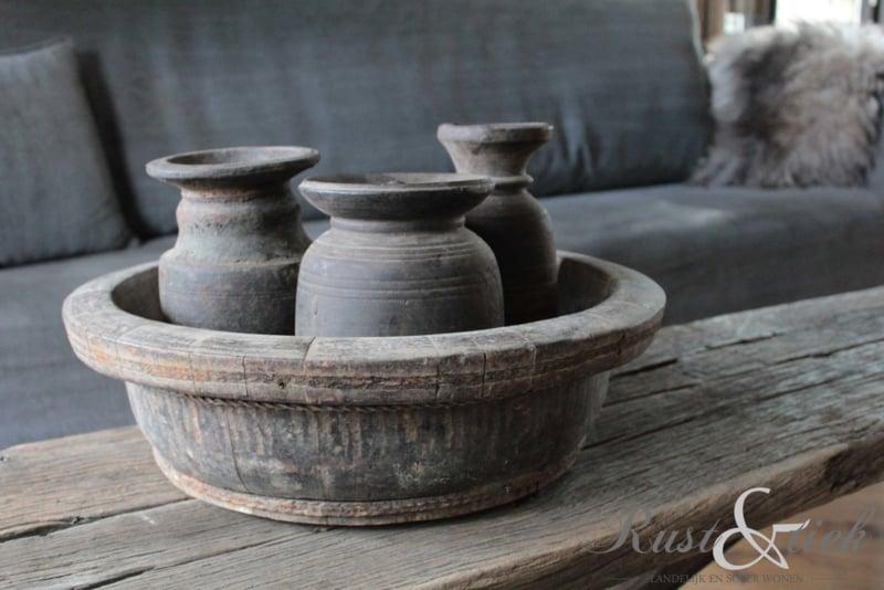 Nepalees kruikje met dekseltje nr. 35