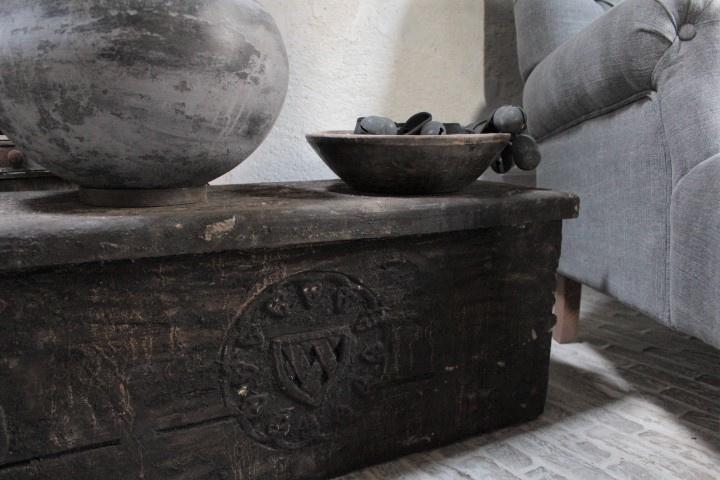 Oude Houten Kist Houten Accessoires Rust Tiek