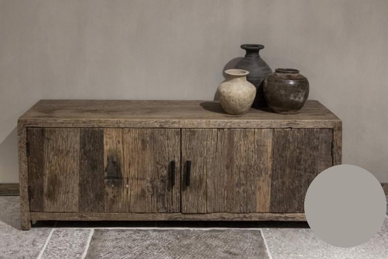 TV meubel robuust hout 150 cm
