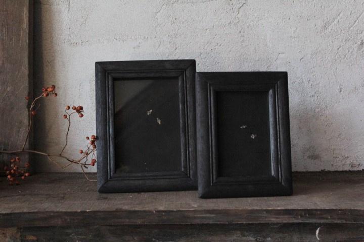Houten fotolijstje black 10x15 cm