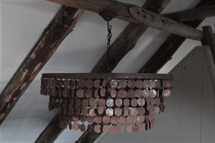 Hanglamp kleine schijfjes 70 cm