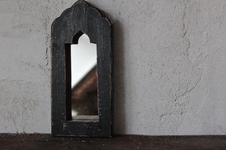 Spiegel zwart