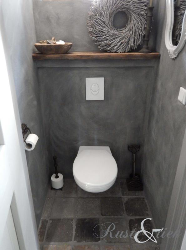 In Het Toilet.Betonlook In Het Toilet Betonlook Rust Tiek