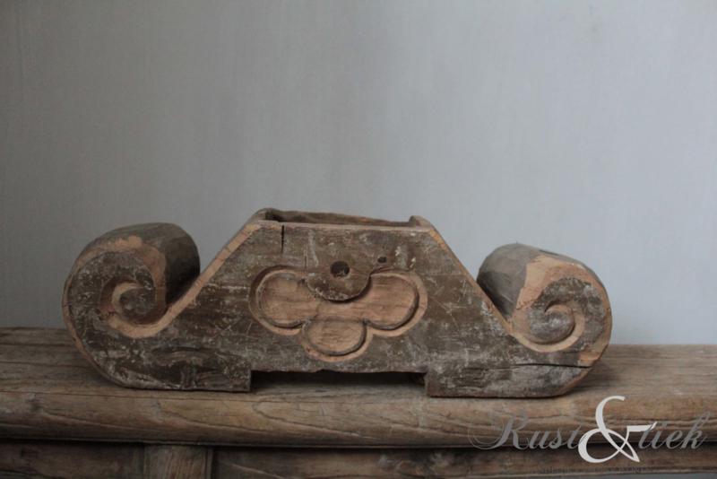 Houten Ornament Houten Accessoires Rust Tiek
