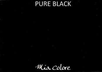 Mia Colore krijtverf Pure Black