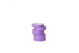 Washi Tape rijstpapier PURPLE 25mm x 50m