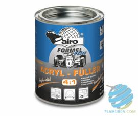 Airo Acryl Füller donkergrijs 4:1 SET - 1 liter
