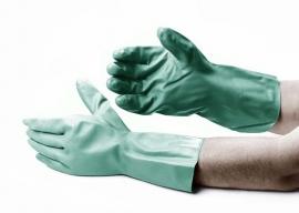 Colad Nitrile industriële handschoen