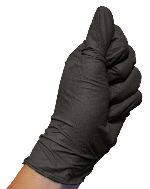 Colad Nitrile handschoenen Zwart