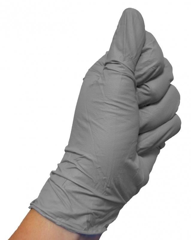 Colad Nitrile handschoenen Grijs