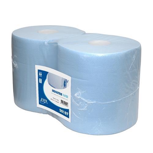 Euro poetspapier blauw 2-laags