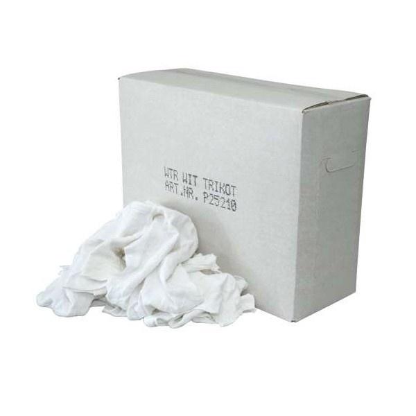 Witte Tricot Poetsdoeken 10kg