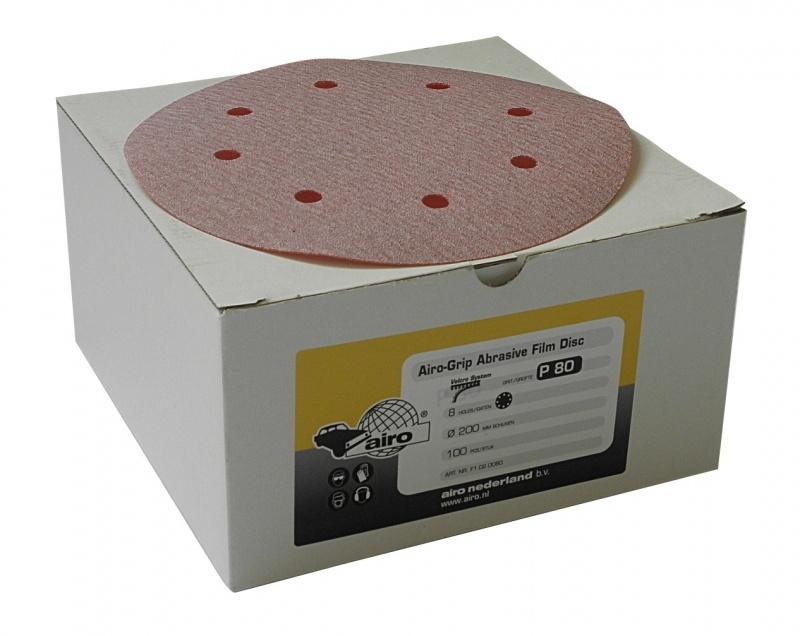 Airo Grip Abrasive GOLD Disc 200mm