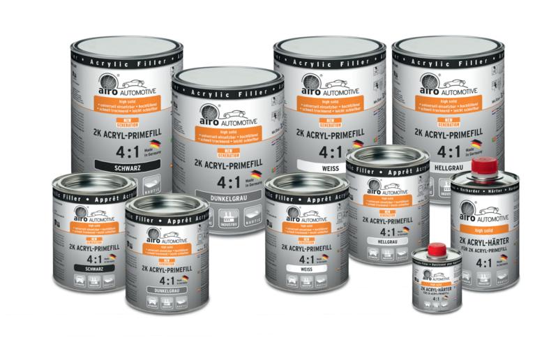 Airo Acryl Primefill Fuller 4:1 SET - 1 liter