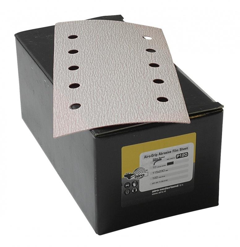 Airo Grip Abrasive Film Sheet 115x230mm