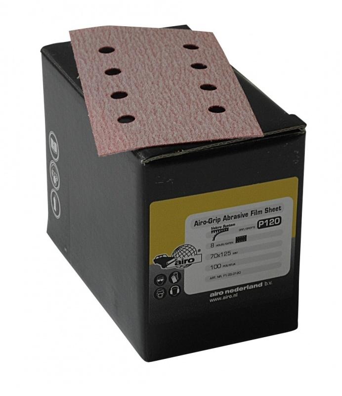 Airo Grip Abrasive Film Sheet 70x125mm