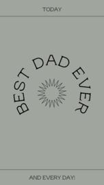 Wallpaper BEST DAD EVER