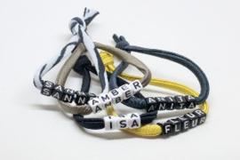 Naam armband