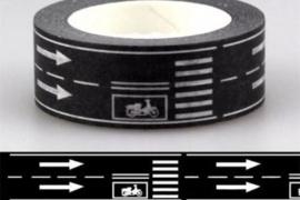 Masking Tape Dubbele Weg