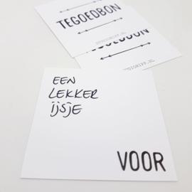 DIY Kras Tegoedbonnen