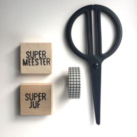 Magneet Vierkant MEESTER