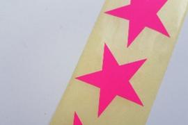 Star neon pink